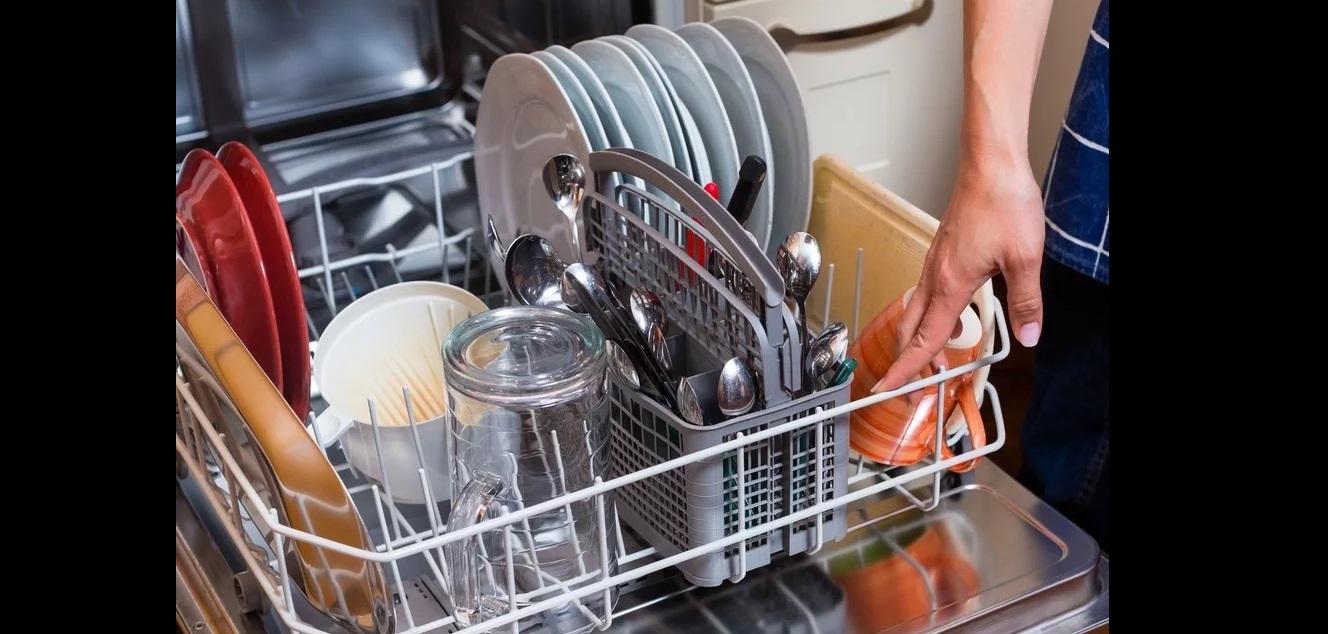 как расставить посуду в ПММ