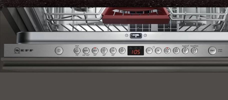набор программ посудомойки Neff