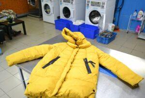Как правильно сушить пуховик после стирки в стиральной машине?