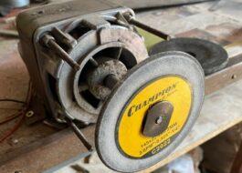 Как сделать отрезной станок по металлу с двигателем от стиральной машины?