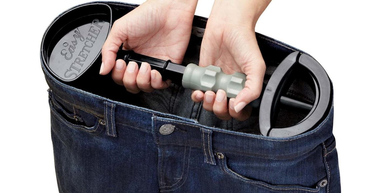 приспособление для растягивания джинсов