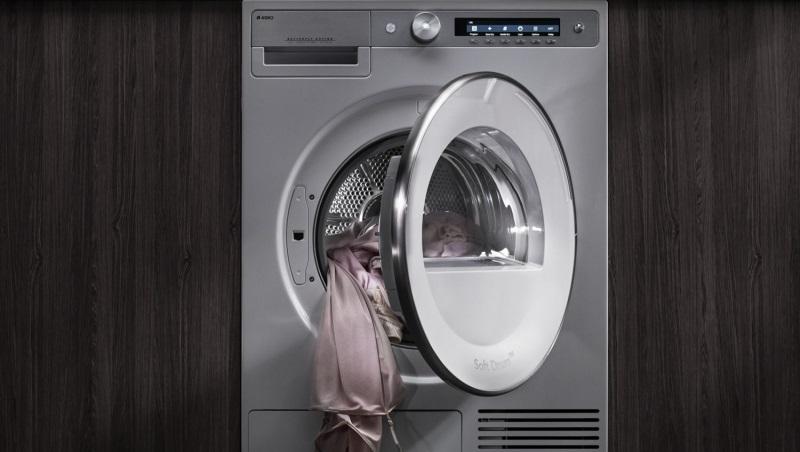 сушим белье в сушильной машине