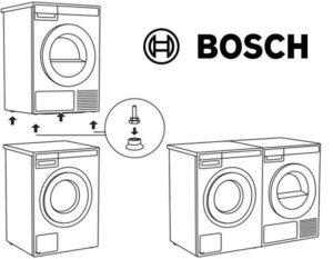 Как установить сушильную машину Bosch