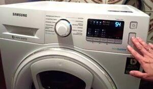 Перезагрузка стиральной машины Samsung