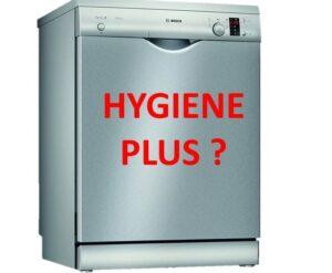 Функция HygienePlus в посудомоечной машине
