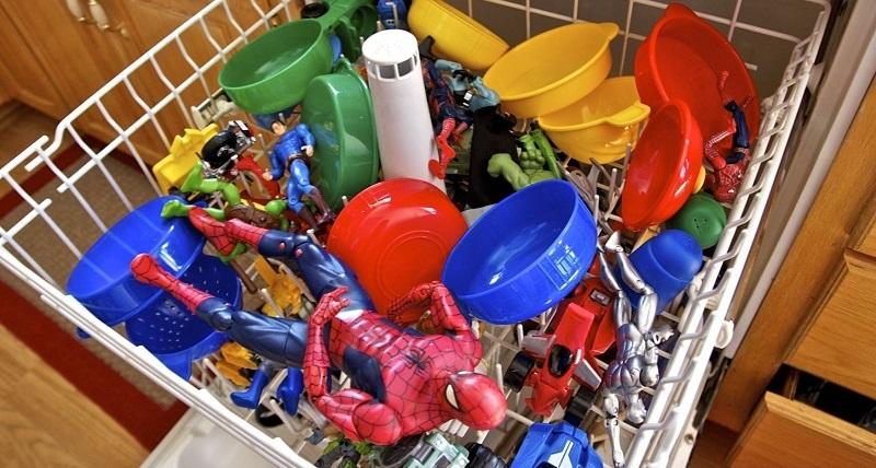 мыть игрушки в ПММ